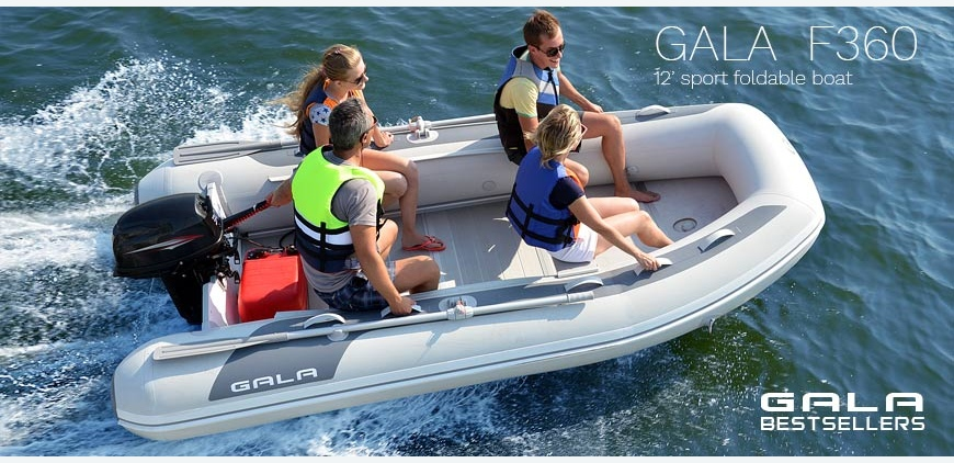 GALA F360 - roomy and fast sport or fishing boat