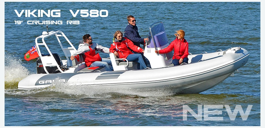 GALA V580 - superior family cruising RIB 19'