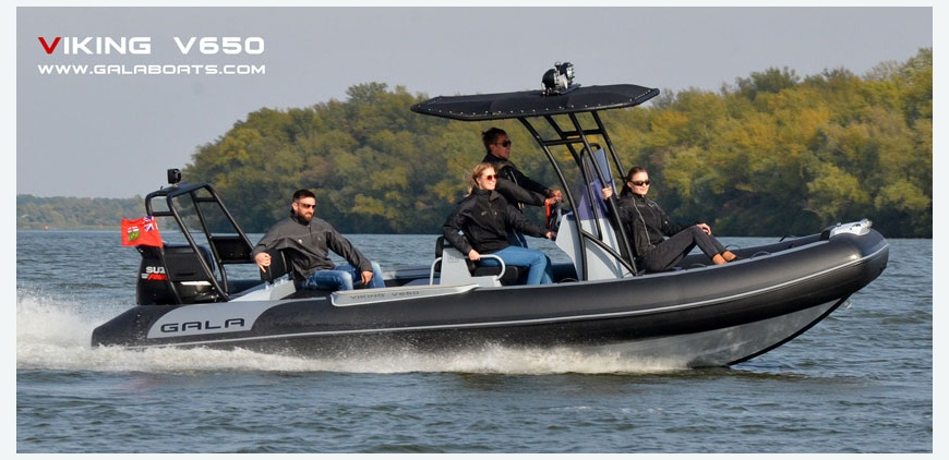 GALA flagship: V650 - 21.5' Crusining RIB from GALA
